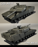 Type 16B-II Main Battle Tank by EBR-KII