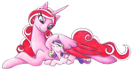 Aphrodite and Cadence by TripperWitch
