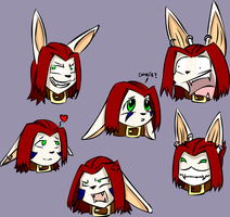 Laxan expressions - Color by Necrath