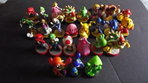 My Amiibo Collection So Far by shnoogums5060