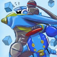 Mighty No. 2 and Mighty No. 6 by kimerson777