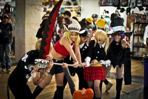 Soul Eater Group 2 by TellitaMS