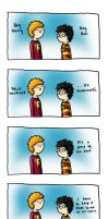 Harry and Ron Discuss Life Issues by TomperWomper