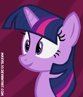 Twilight Sparkle Request by Maxvel33