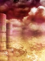 Old Columns by oldhippieart