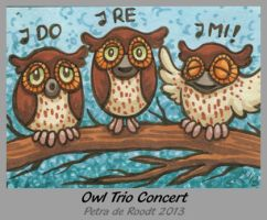 ATC - Owl Trio Concert (n/a) by spaceship505