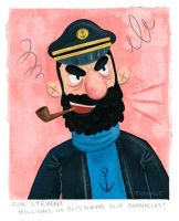 Captain Haddock by TRAVALE