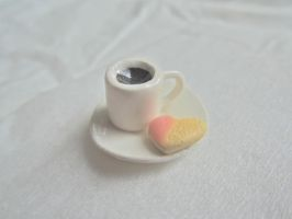 Heart cookie + Coffee by AGTCT