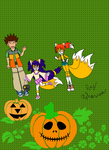 Melina's first halloween by PrincessTales