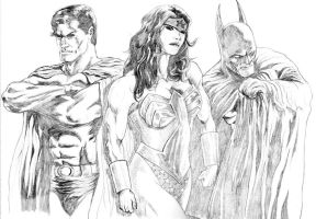 DC's Trinity by MMAsamune