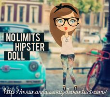 No Limits - Hipster Doll by MrsNarniaSwag