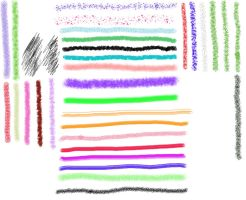 FireAlpaca Brushes by David-c2011