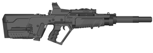 Kpz 7 plasma rifle by wbyrd