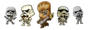 CD 14 Chewie and Troopers by Zakisbak