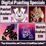 Digital Painting Specials by Knuxtiger4