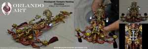 Steampunk Vampire Hunting Crossbow (Deluxe Version by MichaelOrlandoArt