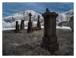 Cemetery with a view by vw1956