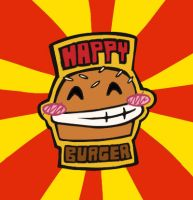 HAPPY BURGER by Oda-Lee