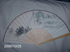 Chinese fan by Noodle-stock