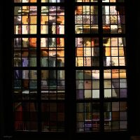 stained-glass window by Bobbyus