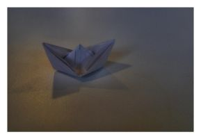 Paper Boat by Bogbrush