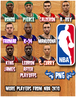 MORE NBA 2K10 Players by Archer120
