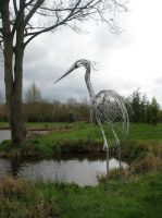 Heron by HubcapCreatures