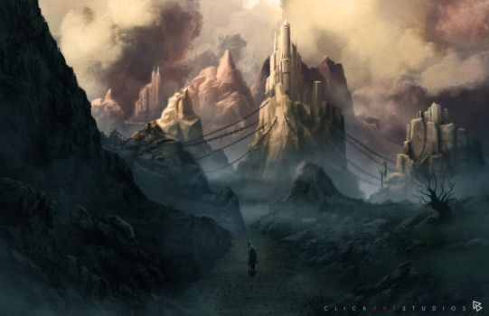 Dark Mountains by castortroy3497