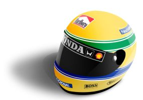 capacete ayrton senna by jhoncolle