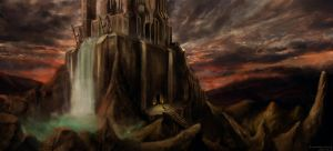 The Graal Citadel by capottolo