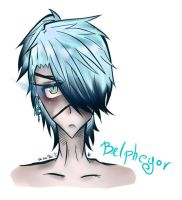Belphegor The Marquees of Sloth [portrait] by shinarei