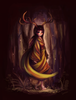 Child of the Forest by luneu