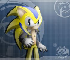 Stiv The Hedgehog by Dj-Reverberance
