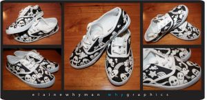 Custom Shoes by elainewhy