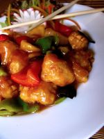 Sweet and Sour Chicken by ChemicalSunflower