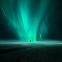 northern lights  by Beautiful--arts