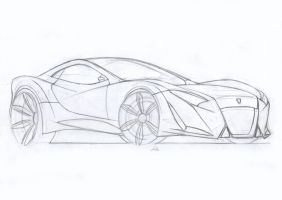 Coupe concept-sketch by Morfiuss