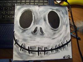 Jack Skellington Painting by McMuffinNinjaFluffer