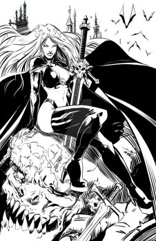 Lady death by polacostyle