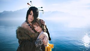 Yuna and Lulu by Harker-Cosplay