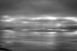 San Francisco and Alcatraz by brianhallpictures