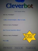 Cleverbot said yes to Pewdie!! XD by NaraUzumaki