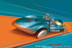 Hot Wheels Tin Mill and not Twin Mill by candyrod