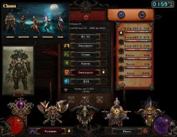 Diablo III Animated Skin by Gefsoft