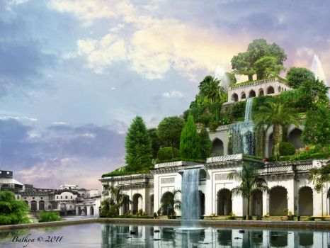 Hanging Gardens of Babylon by batkya