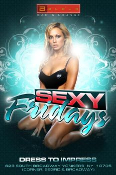Sexy Fridays Flyer by Alucard309