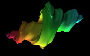 Raytraced 4d Julia Fractal 5 by mcsoftware
