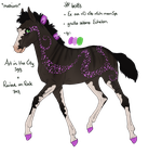 6083 WVF Rock City Anthem Foal Design by shockmyworld12