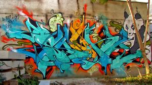 GRAFFITI vs. CANCER 08 by OROL1