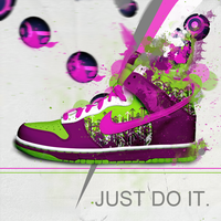 Nike Just Do It by seravoo